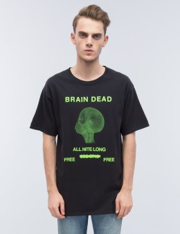 "Brain Dead Chris Oh ""All Night Long"" S/S T-Shirt Picture"