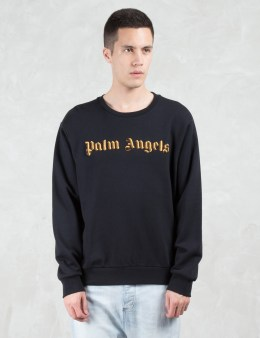 Palm Angels Logo Embroidery Sweatshirt Picture