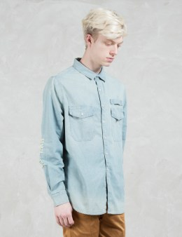 STAMPD Repaired Denim Shirt Picture