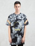 Hood By Air. Overprinted Bulldozer Elongated S/S T-Shirt Picture