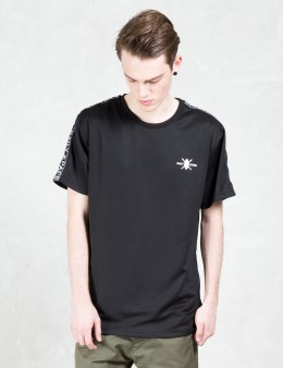 Daily Paper Black Tape Logo T-shirt Picture