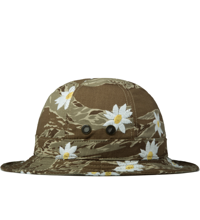 Mark McNairy Daisy Tiger Camo Bucket Hat