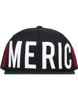 Black Scale Old Glory Snapback Cap Picture