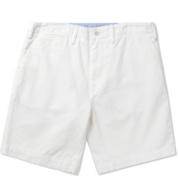 DELUXE White Lomax Shorts Picture