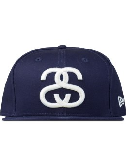 Stussy Navy Ss Link Fa15 New Era Cap Picture
