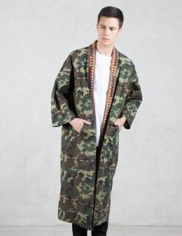 PHENOMENON Woodland Camo Kimono Gown Picture
