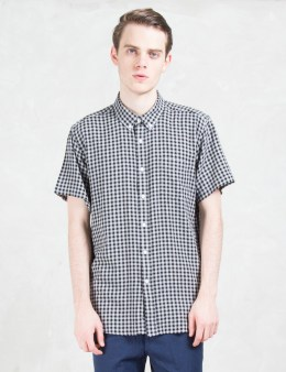 "SATURDAYS NYC ""Esquina"" Gingham S/S Shirt Picture"