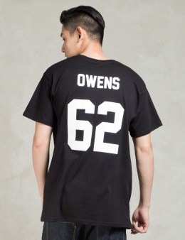 LES (ART)ISTS Black OWENS62 Football T-Shirt Picture