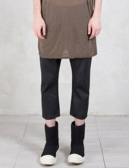 Rick Owens Drkshdw Cropped Jeans Picture