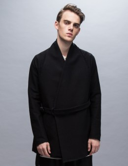 Damir Doma Jackson Cotton Wolly Gabardine Kimono Jacket Picture