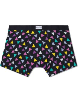 Happy Socks Black Random Triangle Boxers Picture