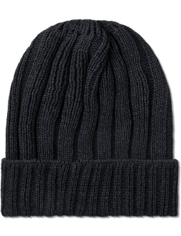 The Hill-Side Black Pima Cotton Knit Cap Picture