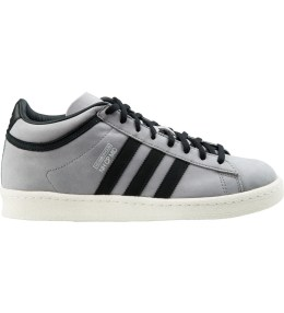 adidas Originals NEIGHBORHOOD x adidas Originals Light Granite/Core Black Campus 80s Mid Sneakers Picture