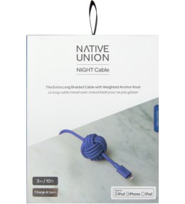 Native Union Blue Night Cable Lightning Picture