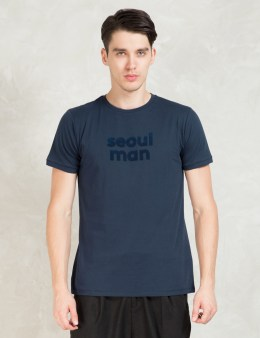A Question Of Navy Seoul Man S/S T-Shirt Picture
