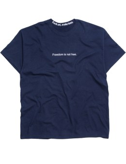 """Fuck Art, Make Tees """"Freedom Is"""" S/S T-Shirt Picture"""