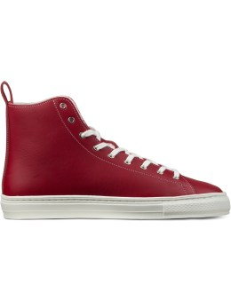 buddy Red B.T High Smooth Shoes Picture