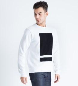 Tourne de Transmission White/Black Splitbox Sweater Picture