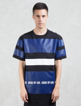 Hood By Air. Multi Stripe Long S/S T-Shirt Picture