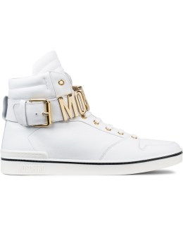 MOSCHINO Moschino Strap Sneakers High Picture