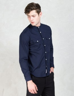 """DELUXE Navy """"Jerry"""" Shirt Picture"""