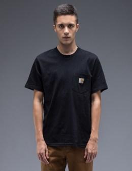 Carhartt WORK IN PROGRESS Black Pocket T-Shirt Picture
