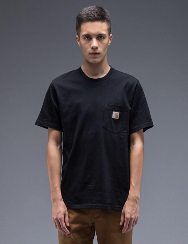 Carhartt Work In Progress Black Pocket T-Shirt