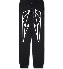 Uppercut Black Structure Soft Pants Picture