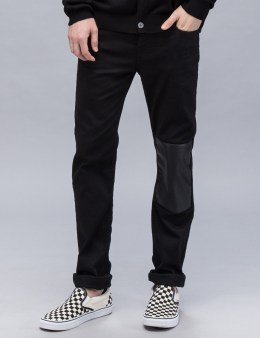 McQ Alexander McQueen Patched Strummer Slim Jeans Picture