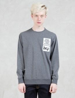 BlackEyePatch Sticker Sweatshirt Picture