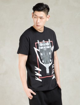 Uppercut Black Printed T-Shirt Picture