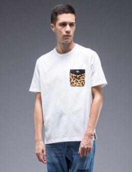 WHIZ Leopard Pocket S/S T-Shirt Picture