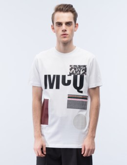 McQ Alexander McQueen S/S Pattern Print T-Shirt Picture