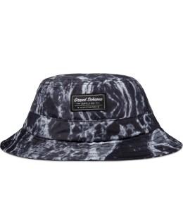 GRAND SCHEME Black Marble Bucket Hat Picture