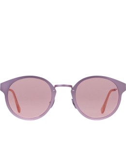 SUPER BY RETROSUPERFUTURE Panamá Synthesis Pink Metal Sunglasses  Picture