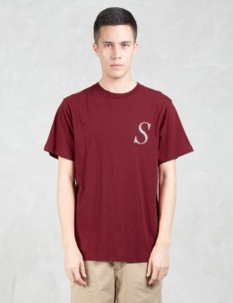 SATURDAYS NYC Italic Miller S S/S T-Shirt Picture