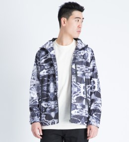 FUCT SSDD Black Aqua Print Shell Jacket Picture