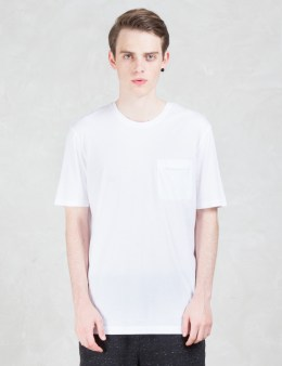 HELMUT LANG Double Pocket Oversized S/S T-Shirt Picture