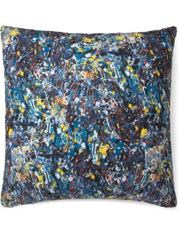 "Medicom Toy ""Jackson Pollock"" Square Cushion Picture"