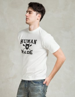 Human Made White ♯1001 Logo T-shirt Picture