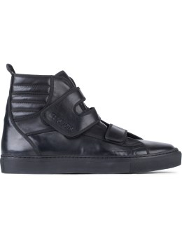 Raf Simons High Velcro Sneakers Picture