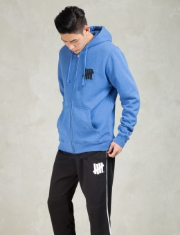 UNDEFEATED Blue 5 Stroke SU15 Zip Hoodie Picture