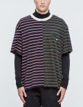 MR.COMPLETELY Pique Sleeve S/S T-Shirt Picture