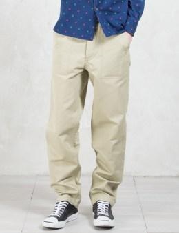 MAISON KITSUNE Linen Worker Pants Picture