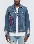 MSGM Vintage Washed Denim Jacket Picture
