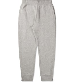 Stussy Heather Grey Luxe Fleece Sweatpants Picture