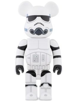 Medicom Medicom Toy 400% Bearbrick X Stussy Star Wars Stormtrooper Picture