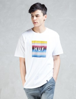 HUF Serape Box Logo T-shirt Picture