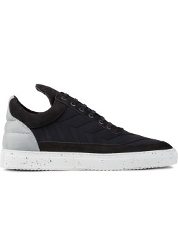 Filling Pieces Neoprene Speckles Low Top Transformed Sneakers Picture
