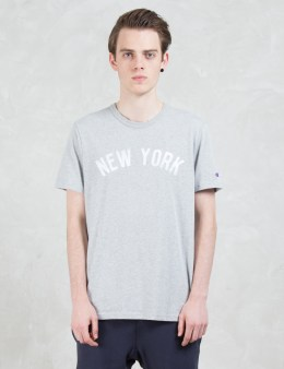 "Champion Reverse Weave ""New York"" S/S T-shirt Picture"